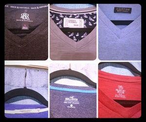 Other - Lot Of Men's VNeck Tshirts (6)